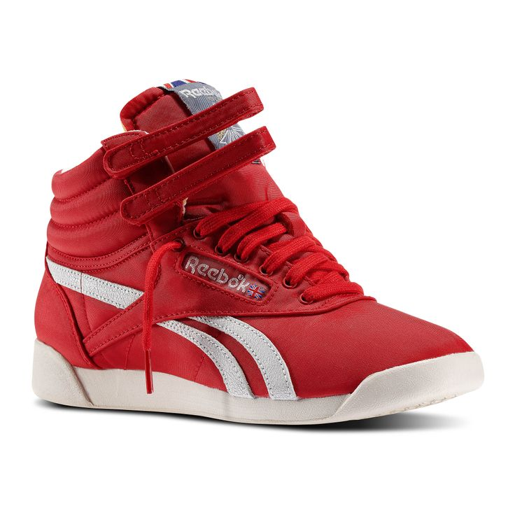 reebok classic high top red