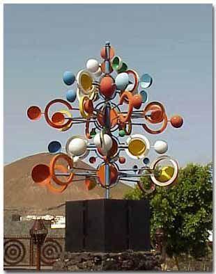 César Manrique: Juguete de viento