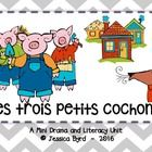 Les trois petits cochons: A Mini Drama and... by Madame's Little Monkeys | Teachers Pay Teachers