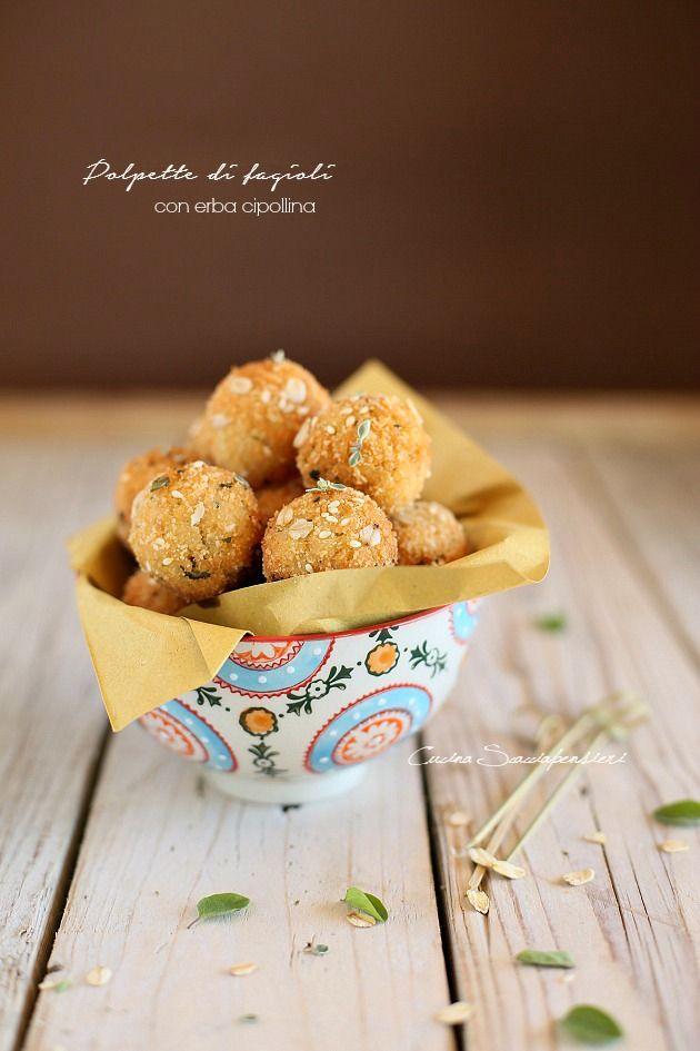 Polpette vegetariane con fagioli e panatura croccantissima! | Cucina Scacciapensieri