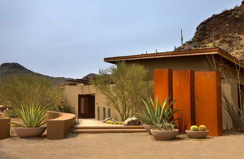 Rancho Nuevo contemporary entry