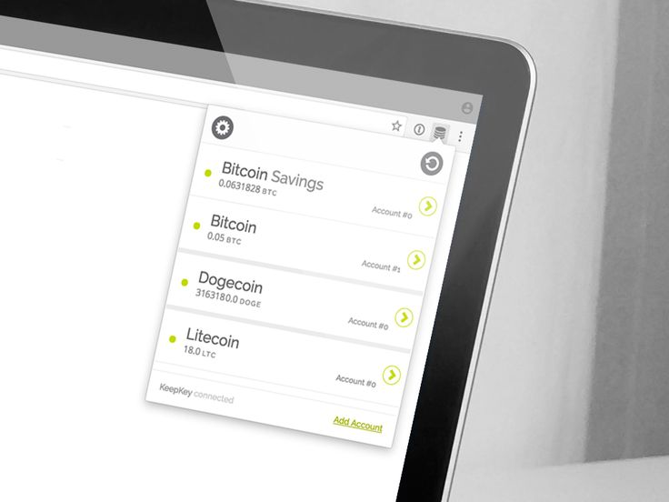 KeepKey Bitcoin wallet multiple currency support