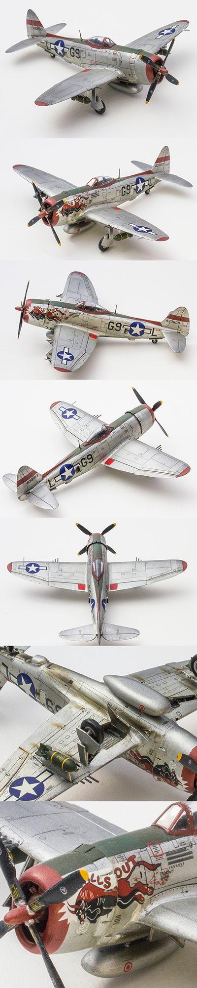 P-47 Thunderbolt 1/72 Scale by Korhan AKBAYTOGAN