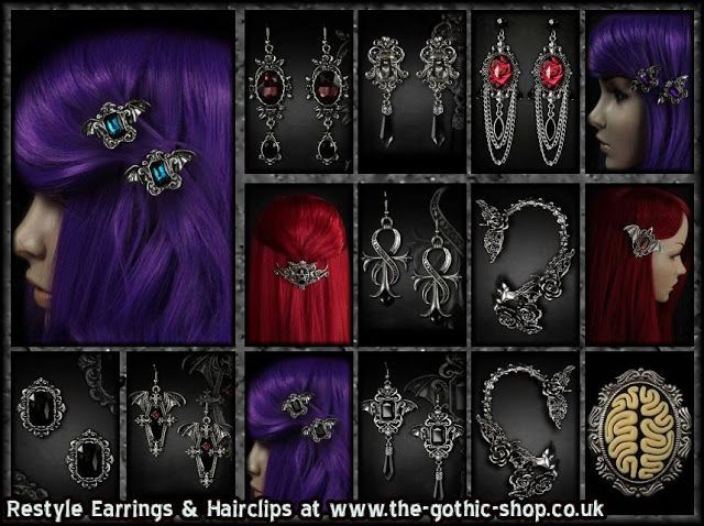 Le Blog Gothic Shop: Restyle & Sinister au The Gothic Shop