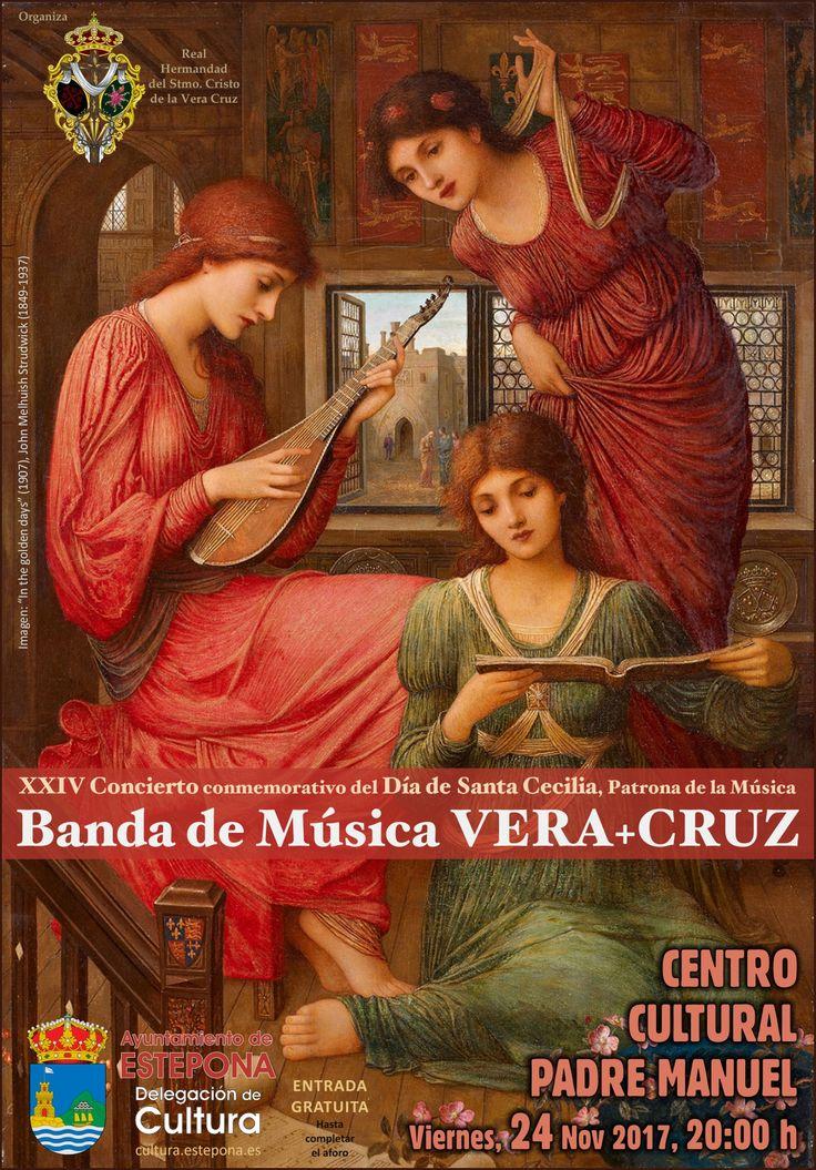 XXIV CONCIERTO SANTA CECILIA BANDA DE MÚSICA VERA+CRUZ