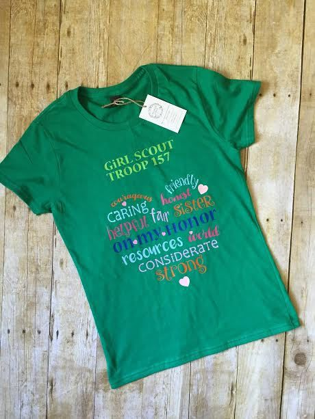 25 best ideas about girl scout shirts on pinterest girl for Girl scout troop shirts