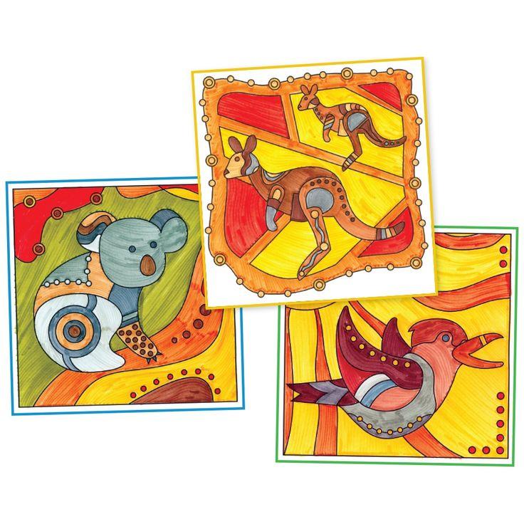 Great activity for NAIDOC Week -Indigenous Animal Patterns
