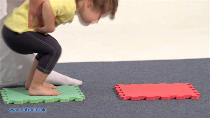 Cvičenie s deťmi - SKOK A POSKOK