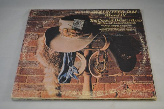 Vintage Double Gatefold Record Charlie Daniels by FloridaFinders