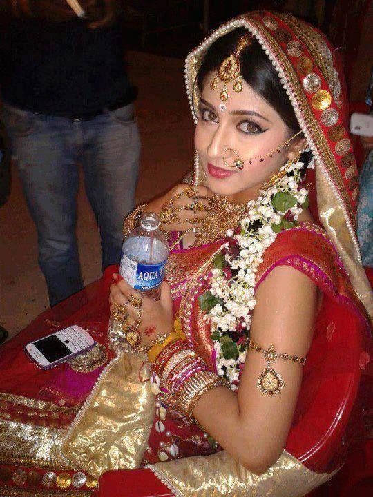 Sonarika Bhadoria on the Sets of Devon Ke Dev Mahadev