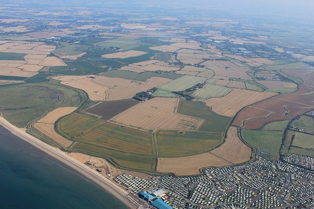 Medmerry: Aerial photo March 2012 | Flickr - Photo Sharing!
