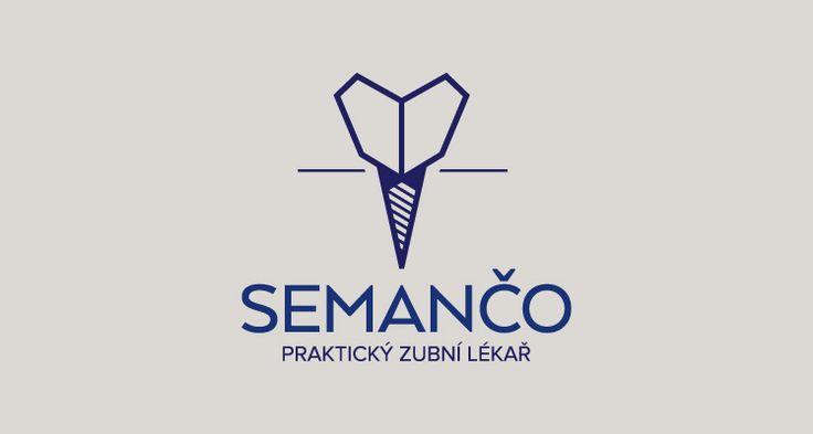 MDDr. Ján Semančo Praktický zubní lékař, Brno Logotyp ordinace (2015) Dentist, Logotype surgery