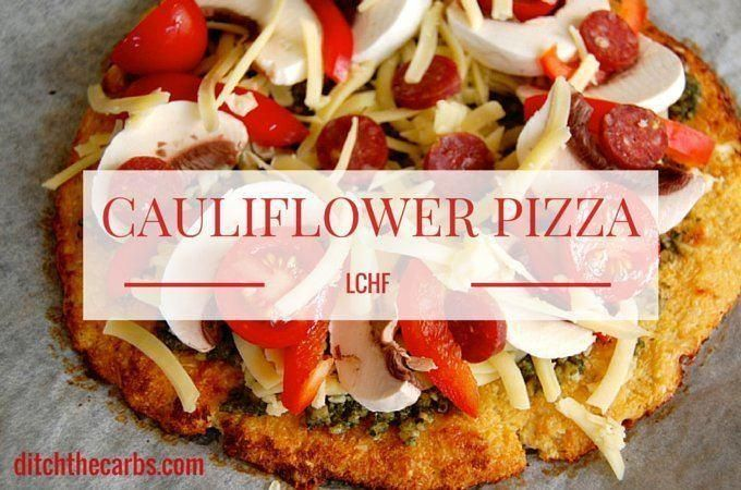 Follow these easy steps and learn how to make cauliflower pizza. Gluten free, low carb and amazing, this recipe is a healthy alternative to regular pizza.