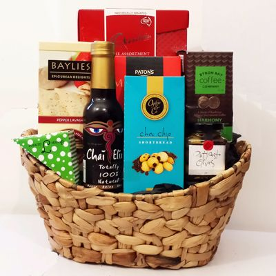 25 best gift baskets images on pinterest gift ideas gift basket australian gourmet gift hamper delivery melbourne sydney a australia wide 109 negle Images