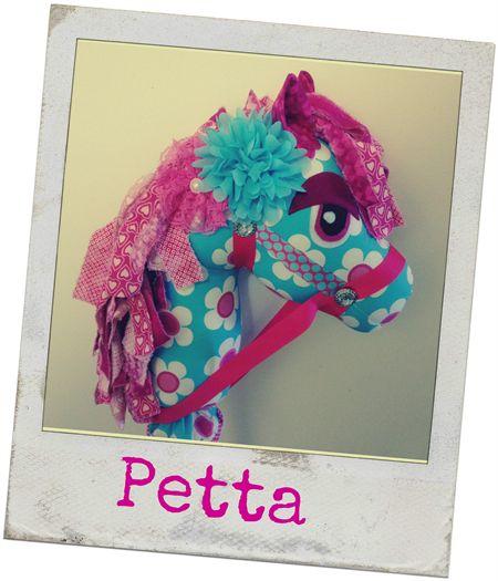 OOAK Hobby Horse (Wooie)  #125 Petta