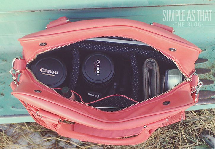 Take a peek inside my camera bag at what my photography essentials are!