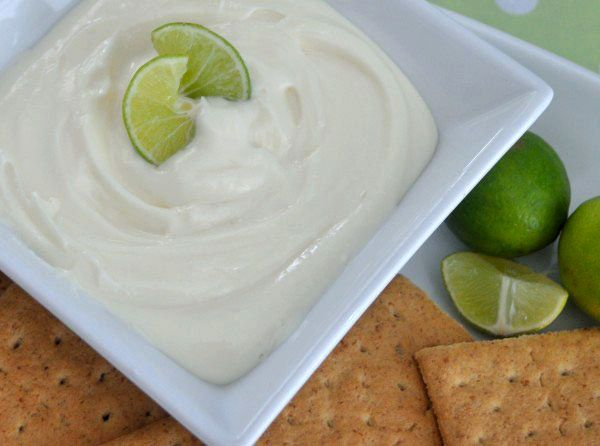 Key Lime Dip; Darlene @ Dip Recipe Creations: tastes just like key lime pie in a simple dip recipe. Made this for a work potluck this week and everyone raved about it.