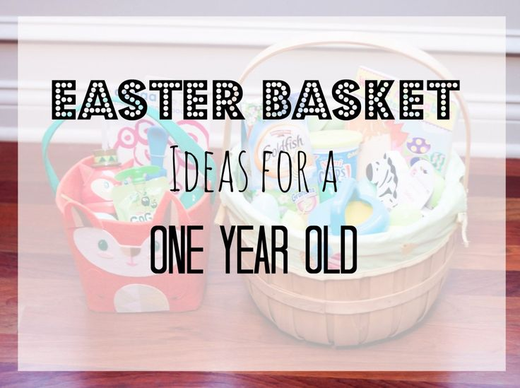 24 best easter images on pinterest easter food desserts and some great ideas for an easter basket for a one year old negle Images