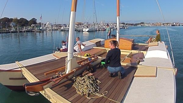 Building Mon Tiki « Sailing Montauk presents Mon Tiki: Day Trips and Sunset Cruises on Montauk's Charter Catamaran