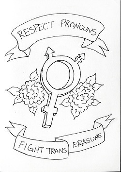 Fight trans erasure via http://anna-grrrl.tumblr.com/
