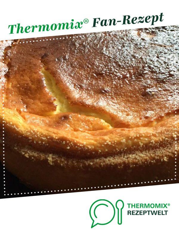 Kasekuchen Im Thermomix Ohne Boden Kuchen Bild Idee