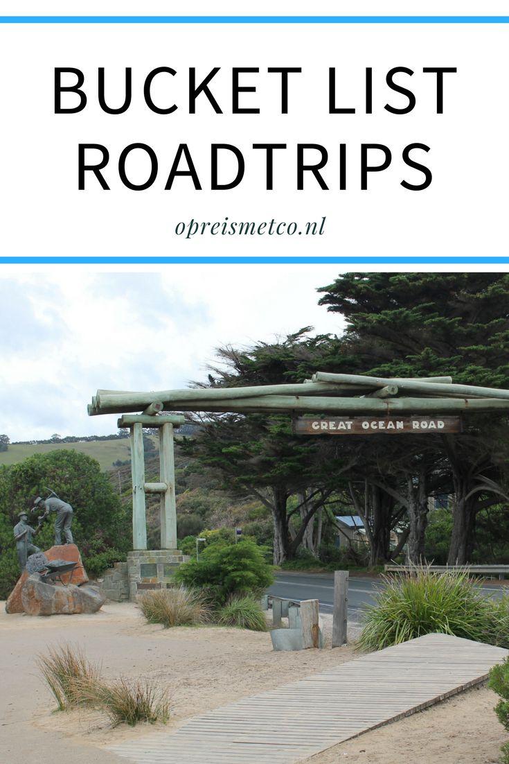 Roadtrips zijn awesome. In deze blog mijn bucket list met roadtrips die ik ooit nog eens wil maken.
