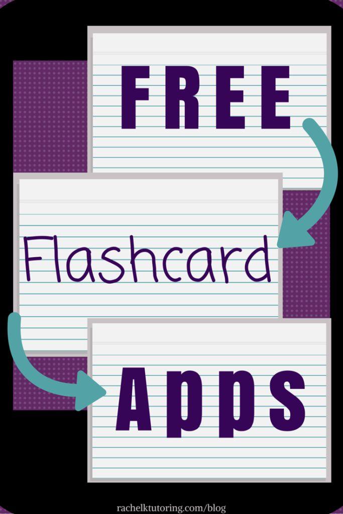 Free Flashcard Apps | Rachel K Tutoring Blog