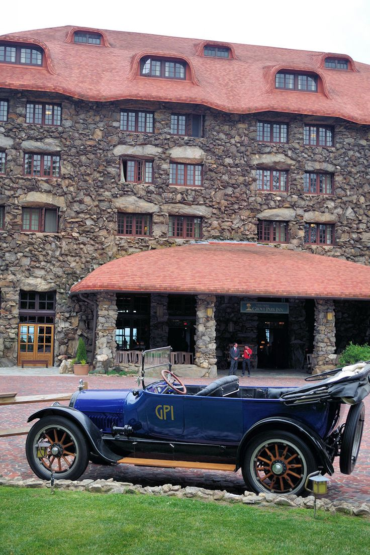 Historic Grove Park Inn in Asheville, North Carolina.