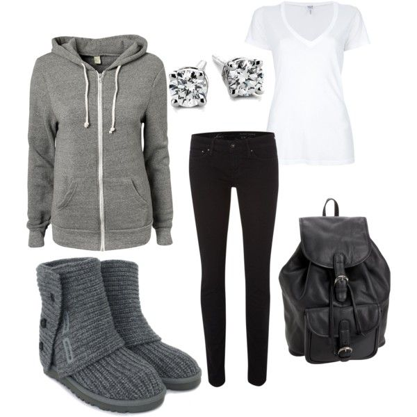 Winter outfit. Cute and comfy. Love