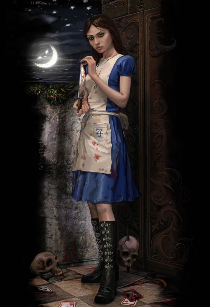 Alice American McGee's by ~iricolor on deviantART