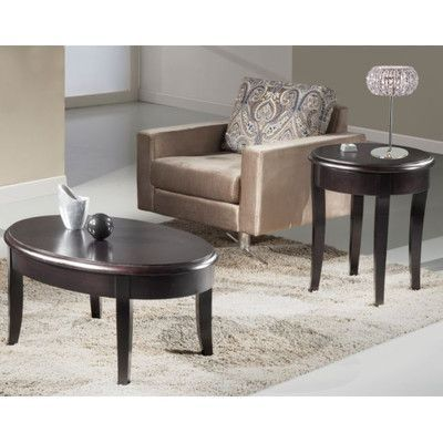 Furnitech Transitional Coffee Table Set