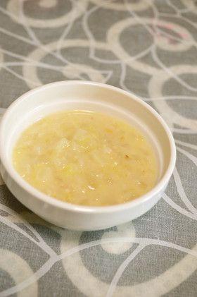 離乳食『薩摩芋と林檎のオートミール煮』