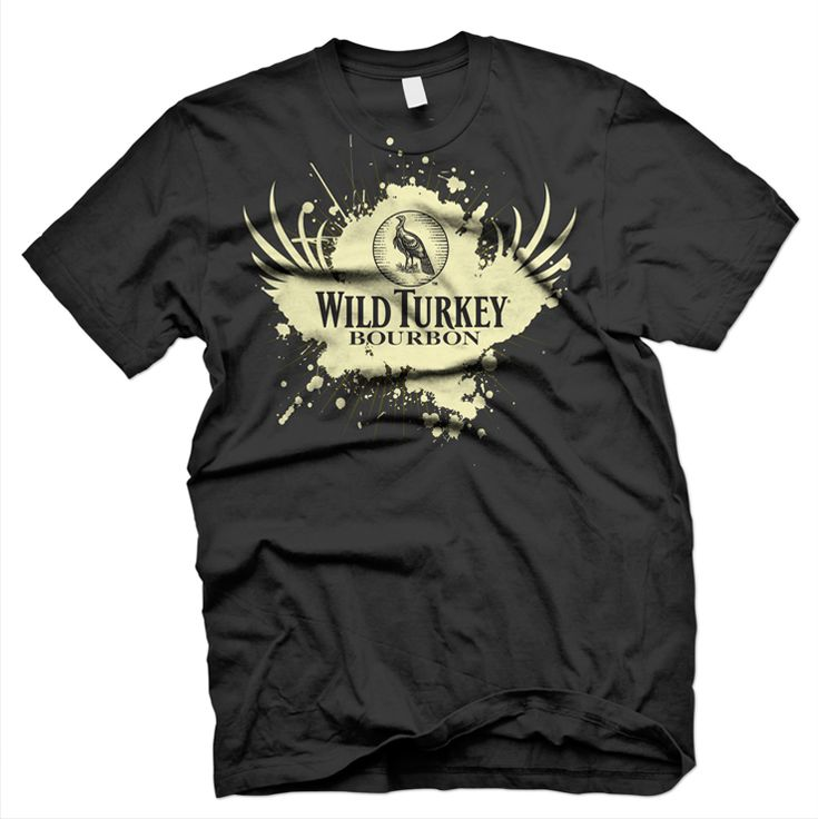 Wild Turkey: T-Shirt Design