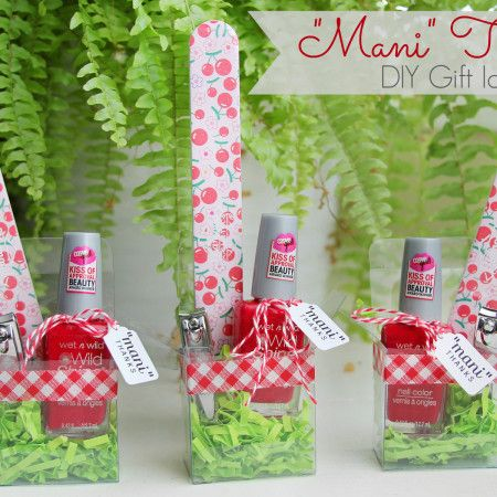 "Quick DIY Gift Idea: ""Mani Thanks"" Manicure Set"