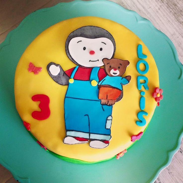 Fabuleux 7 best Tchoupi birthday images on Pinterest | Cake designs, Cake  FU01