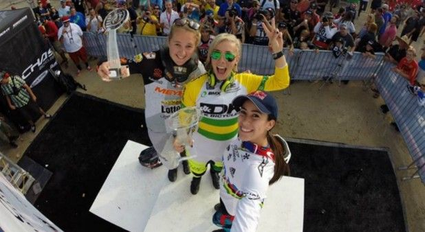 Vea la última carrera del Mundial de BMX, que volvió a ganar Mariana Pajón