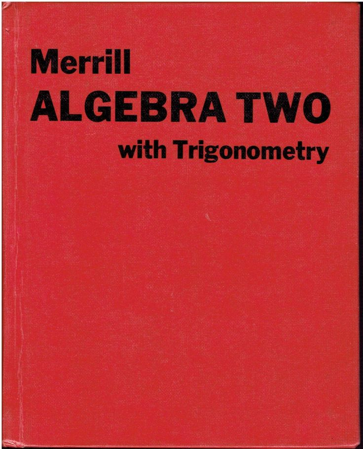 21 best ma4 math high school images on pinterest high school merrill algebra two with trigonometry high school math book isbn 0675034906 ma4 fandeluxe Gallery