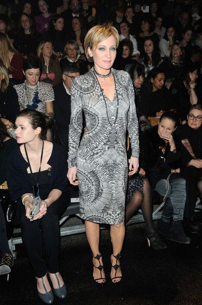 Patricia Kaas Photos Photos - Celebs at Paris Fashion Week - Zimbio