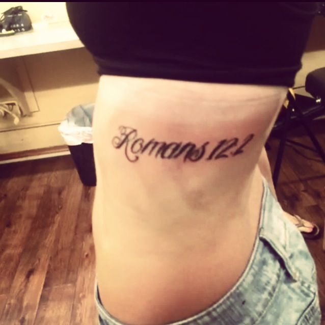 Romans 12 2 tattoo do not conform any longer to the for Not of this world tattoo