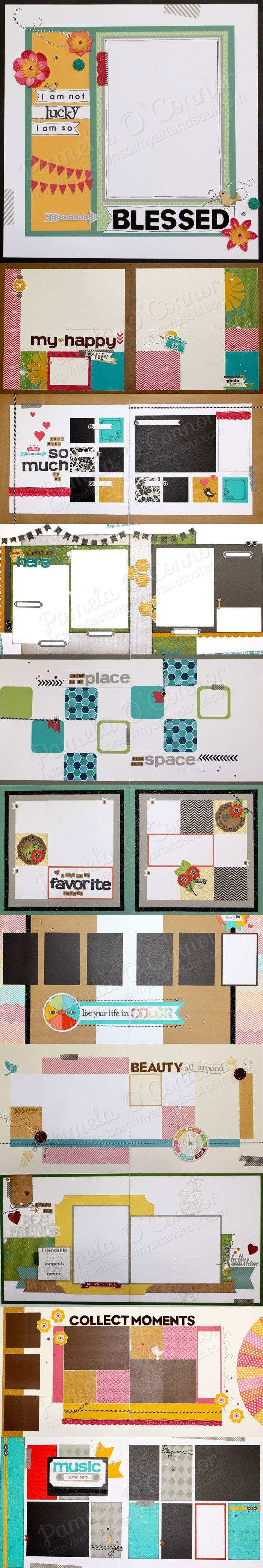 Scrapbook ideas no pictures - Great Easy Scrapbook Ideas