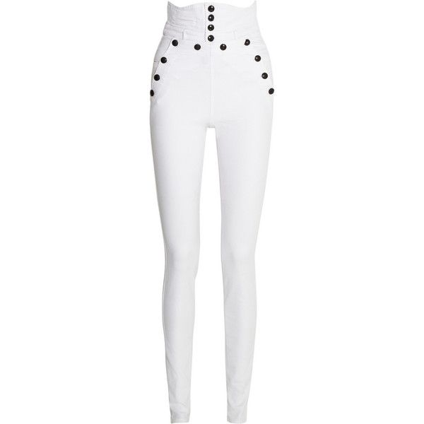 25  great ideas about White skinny pants on Pinterest