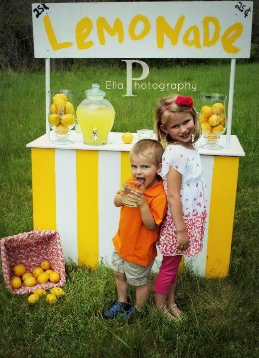 how to make fresh squeezed lemonade like at the fair