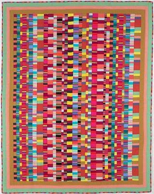 Quilt Patterns Using Stripe Fabric : 25+ best ideas about Striped Quilt on Pinterest Quilt patterns, Teal quilt and Baby quilt patterns