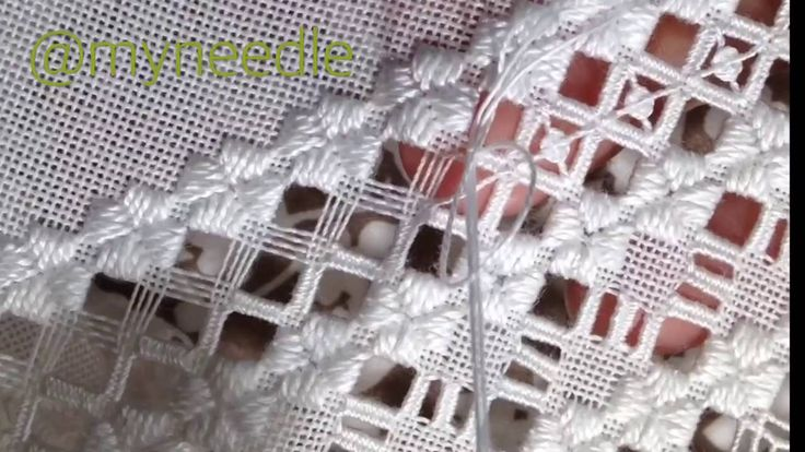 "Hardanger embroidery""spider's web"".                                                                                                                                                                                 More"