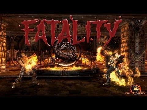 (108) Mortal Kombat 9: Todas las Fatalities (Incluidos Goro, Kintaro, Shao Kahn + DLC) - Español - PC - HD - YouTube