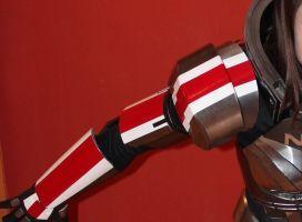 Mass Effect 3 N7 Armor build (Femshep) by NaughtyZoot