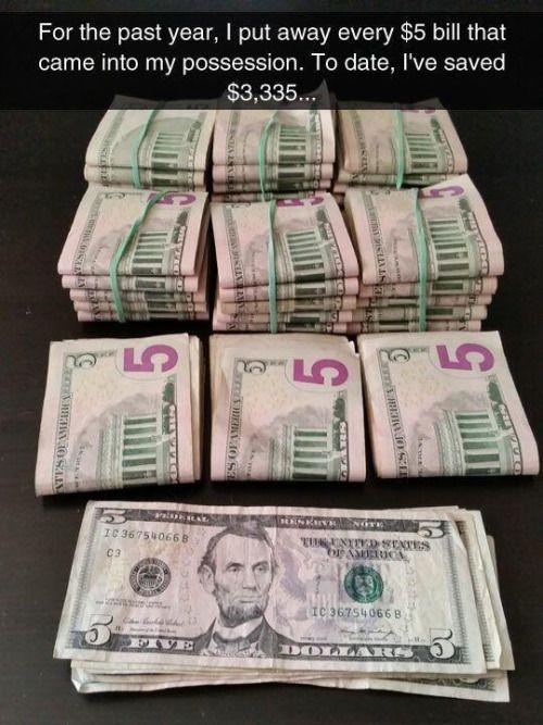 A great money saving technique.