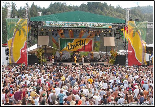 Eel River- Reggae on the River -1987,88 & 89. We would stay and see Jerry play Electric the next weekend.
