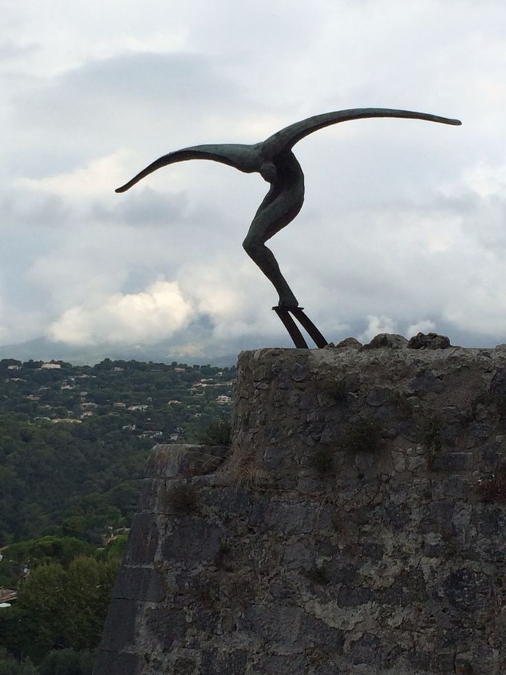 #st.paul #france #art #sculpture #cote'dazur #envol