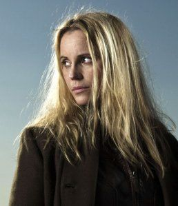 "Sofia Helin plays Saga Norén, hero of ""The Bridge"", , the cooooolist gal on TV."